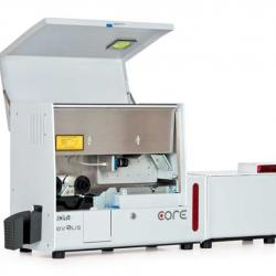 Core card printer